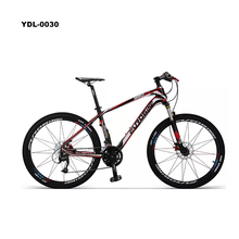 Carbon fiber bicycle 27 speed 26 &quot; hydraulic disc brake adult mountain <strong>bike</strong>