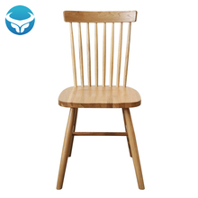 simple modern solid wood Windsor chair ash wood dining chair Nordic coffee restaurant chair