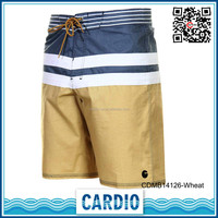 new model 91% polyester fabric boardshorts 4 way stretch men beach shorts fashion men's swim boardshorts