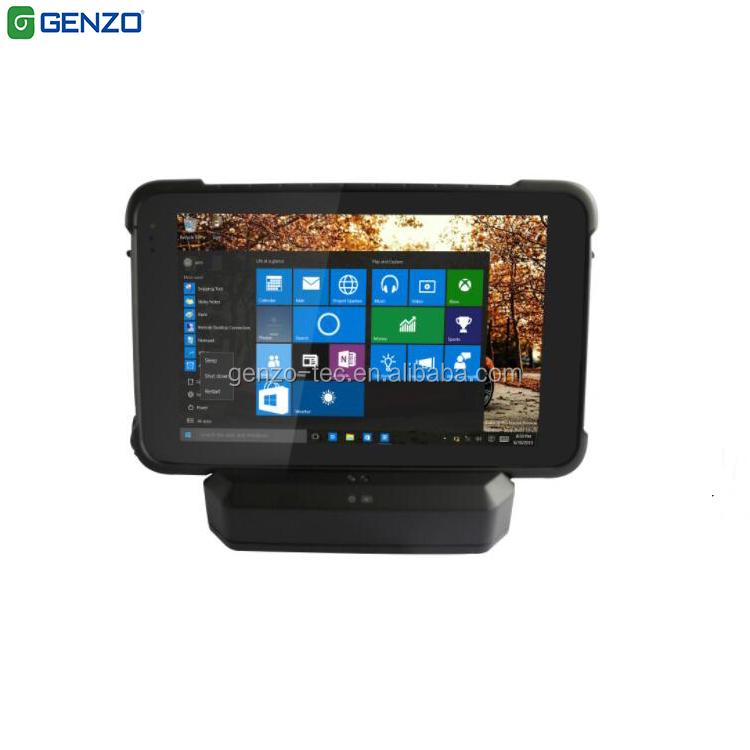 4GB ROM 64GB SSD 8 inch IP67 WIFI 4G-LTE GPS For Android5.1 Industrial Rugged Tablet Windows <strong>10</strong> With RFID/2D Barcode Scanner