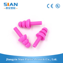Water-proof silicon earplug swimming ear plug for new hear style