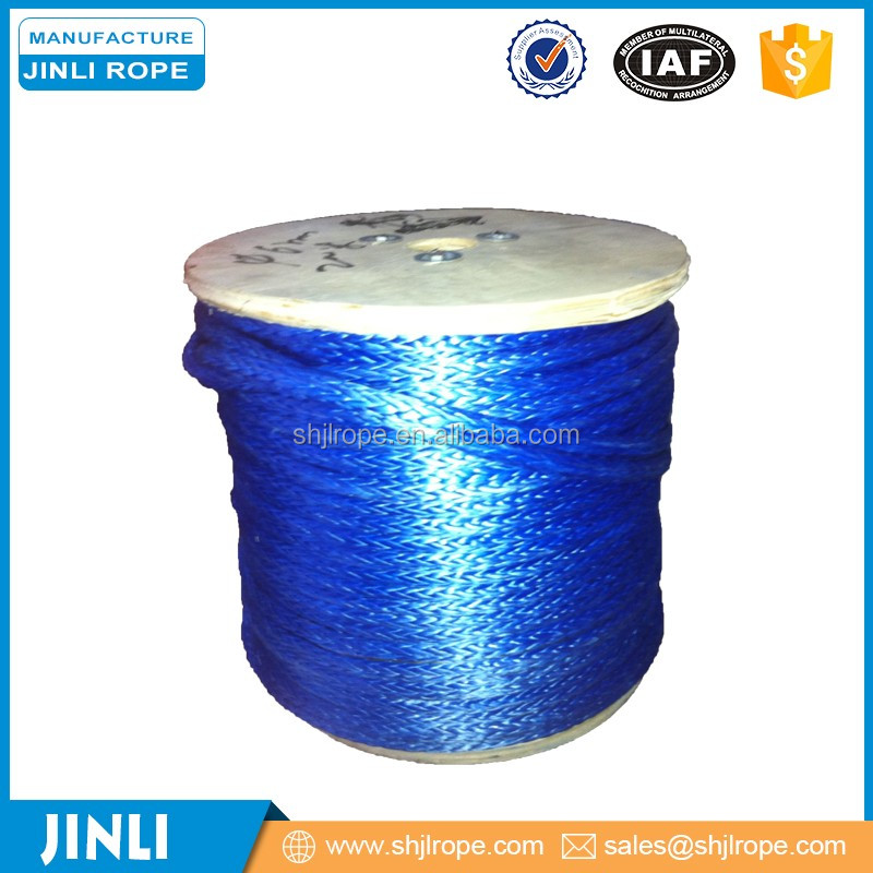 [JINLI ROPE] 12-strand Cable pulling rope designed for high breaking strength with low stretch