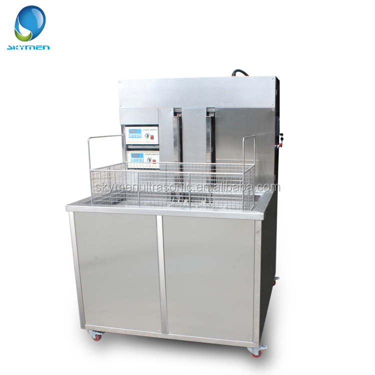 SKYMEN Hydraulic Lift Ultrasonic Cleaning Machine For Car Parts Cleaning