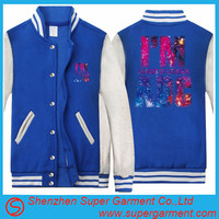 customized 2016 new design school varsity jacket for men sport baseball jacket