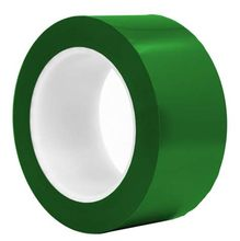 Self <strong>Adhesive</strong> Green 50mm x 33M Warning PVC Marking TAPE