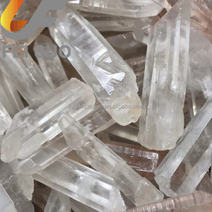 Natural clear quartz rough points transparent crystal stone for Bulk sale