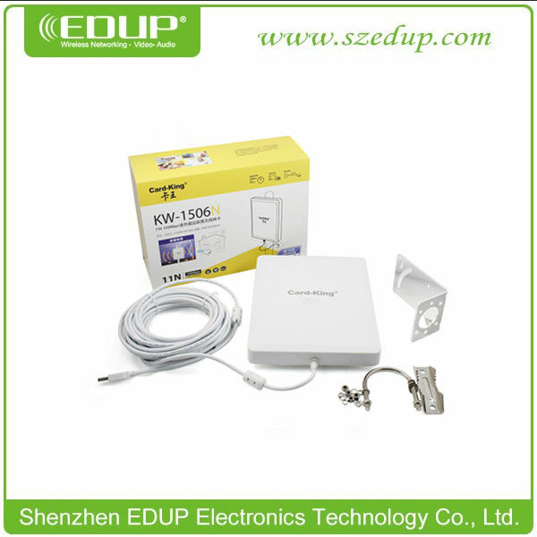 EDUP EP-8523 Ralink RT3070L High Power Power Long Range WiFi Antenna