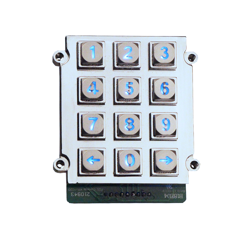 metal intercom keypad box rugged matrix metal keypad