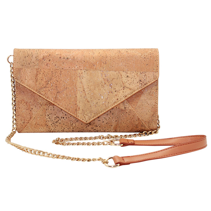 Boshiho Clutch Cork Bags and Purses Ladies Handbag Envelope Purses