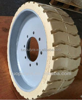 Construction machinery tyre 22x7x17 3/4,Non marking tire&rim 22x7x17 3/4,Genie lift wheel