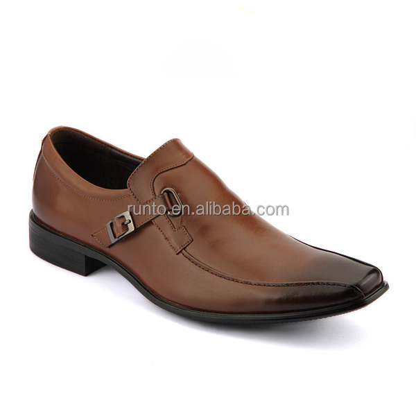 Pure manual Calf leather casual man shoes comfortable Italian men shoes Men dress shoes genuine leather wholesale
