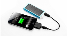 Smart Design Portable Power Bank Charger Solar 5000mAh for iPhone/iPad/iPod Android Phone