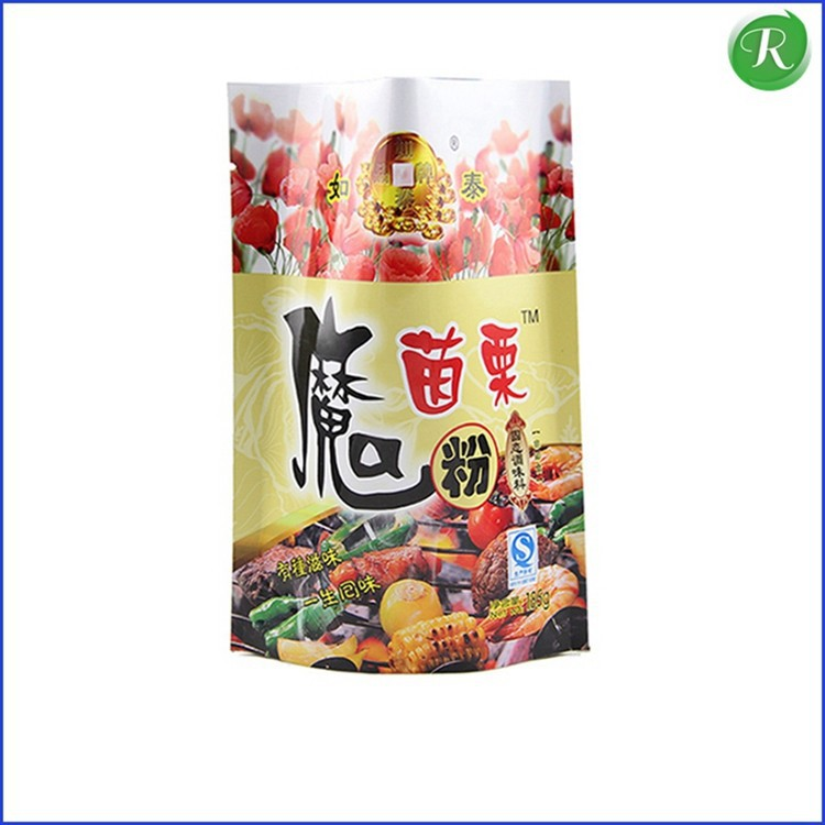 plastic animal food bag pouch