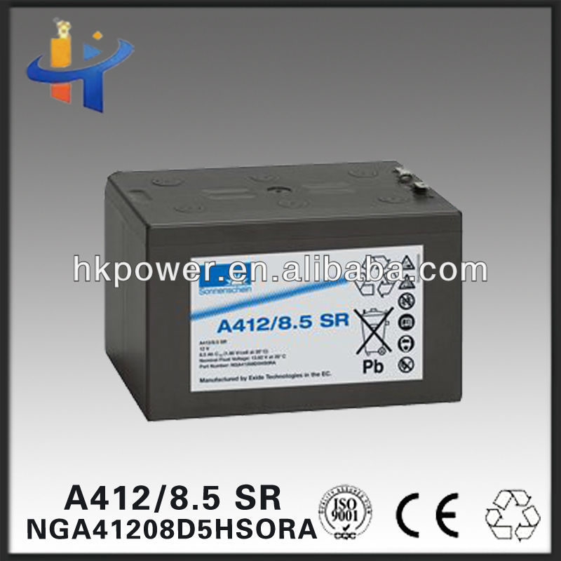 Green company long lasting power battery 12v rechargeable solar crystal gel battery