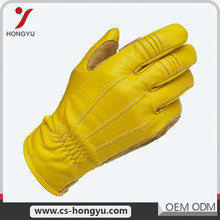 Low moq wholesale industrial leather work men used golf gloves