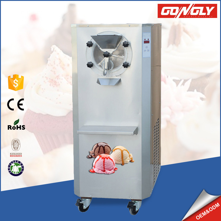Distribute Sale automatic 35-50 L/H gelato making italian hard ice cream machine for cinema/theater