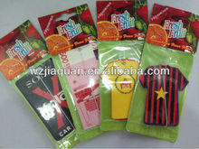 paper hanging fragrance car perfume card