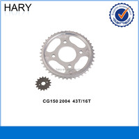 High quality CG150 motorcycle sprocket for sale