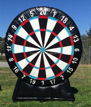2017 New inflatable golf dart game, inflatable golf dart board for sale