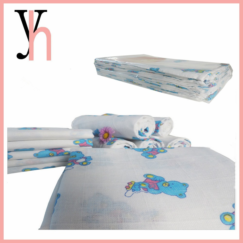 New design printed resuable cotton cloth pocket baby diaper nappy