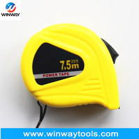 3m/10ft Yellow new ABS steel measuring tape/ 25ft pvc lable with Thumb lock high-performance tape ruler