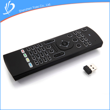 High Quality Multimedia Inertial Sensor Keyboard Remote Control With Back Light