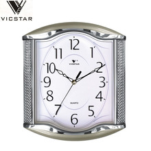 GuangDong factory square shape silent wall clock