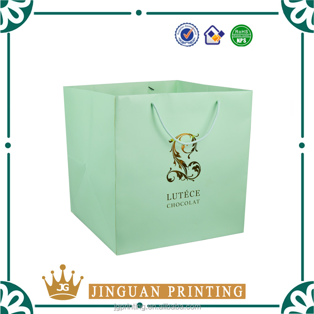 High quality customize made gift luxury paper packaging extra large shopping bag