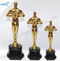 China supplier new product resin oscar award resin oscar trophy