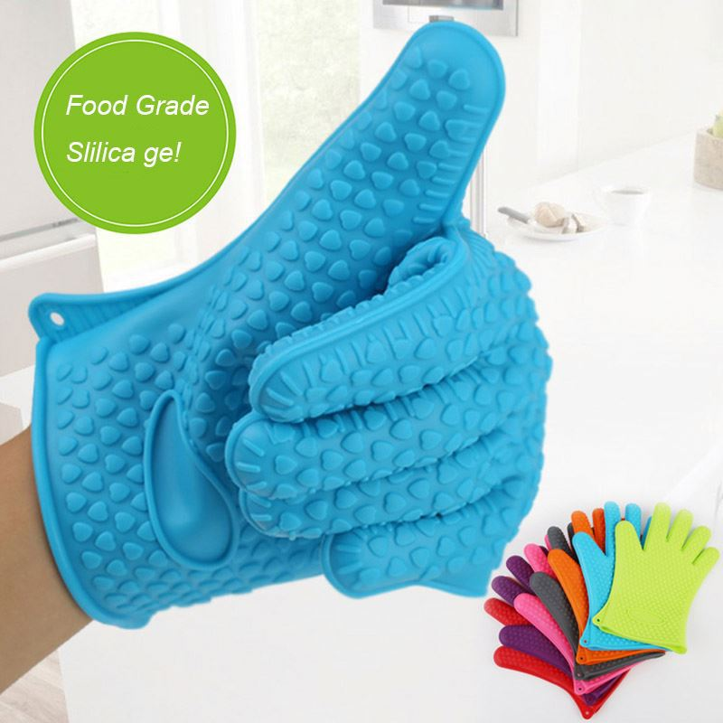 Manufacturer Supplies Microwave Oven Silicone Hand Gloves