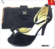 Mikemaycall fashion italian women shoes with matching bag set for party wedding