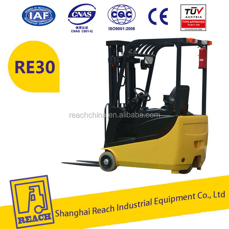 Industry used lower price electric forklift truck 1. 5 ton
