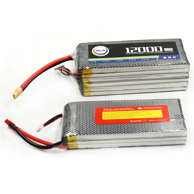 22.2v lipo battery 12000mah 30c large lipo battery High capacity