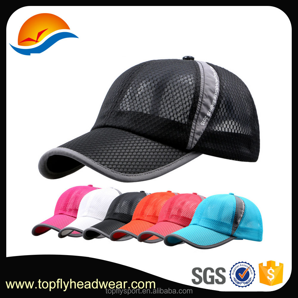 Trade Assurance Dry Fit Running Cap Softextile Sports Caps and Hats