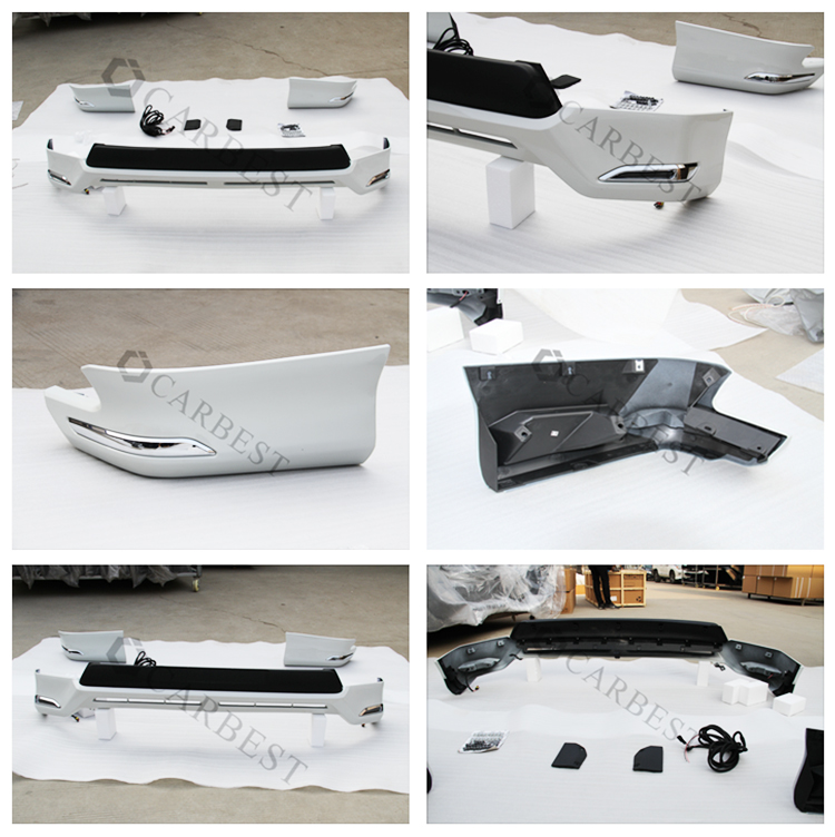 High Quality Body Kit for Toyota Land Cruiser Prado FJ150 2016 With Lamp