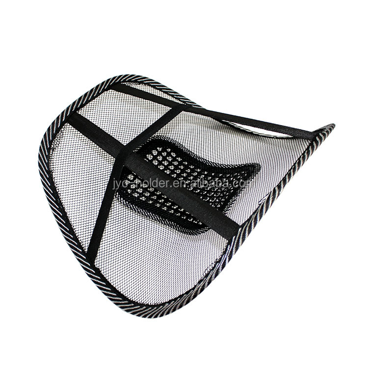 beaded back support	,	lumbar support back , H0T050 , promotional mesh back lumbar support