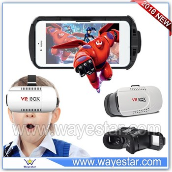 New technology 3D glasses for smartphone vr box 2016