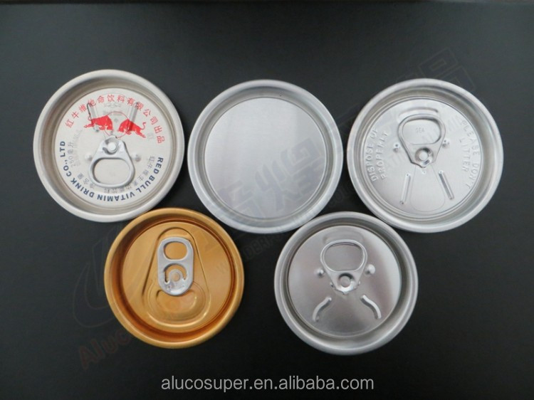 200# Tab Aluminum Can 50mm Energy Drink Lids