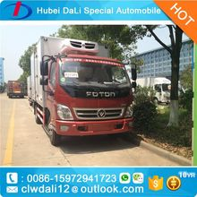 foton aumark van truck price for sale,4x2 Closed Container Type Van Trucks for sale,transport truck