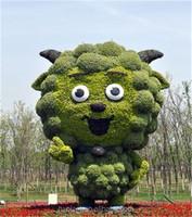 No.1 Green sculpture on sale fake art sculpture on park
