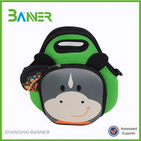 Reusable Waterproof Cooler Bag with Adorable Animal Image