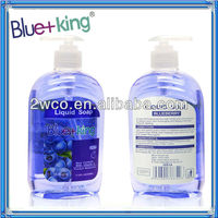 blueberry bubble liquid soap/hand sanitizer for personal care products