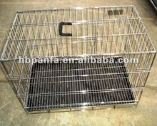 chrome coated Pet Dog Cages