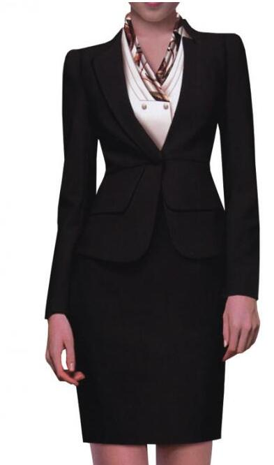 2015 hot sale ladies office uniform design women bank for Office uniform design 2015