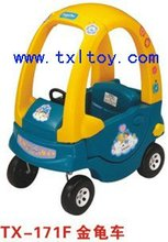 baby ride on toy car plastic music car TX-171F PENDAL CAR