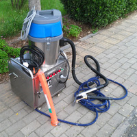 220V 6KW Electric Steam car wash machine with steam vacuum cleaner