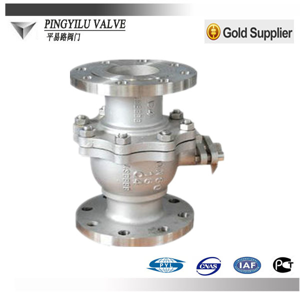 Flange type 3 inch SUS 304 316 321 ball valve supplier