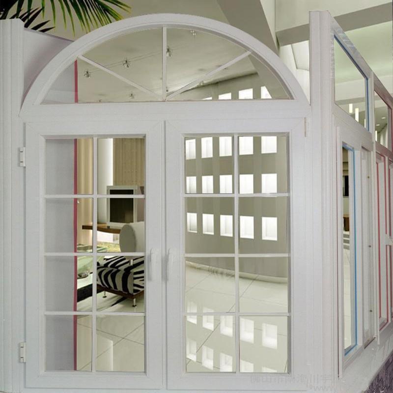 European Style Double Glazed Upvc Casement Window With