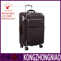Wholesale china high quality waterproof trolley luggage suitcase with secret compartment