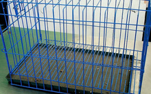 Multiple Sizes Cat Dog Folding Steel Crate Animal Playpen Wire Metal Dog Cage, Dog Crate, Dog Kennel /